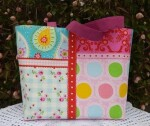 Patchwork effect fabric