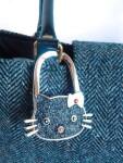 Black handbag Hook