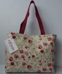 Floral cotton bag