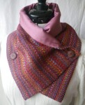 Irish tweed scarf